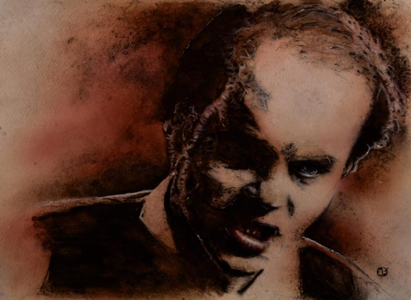 Michael Ironside Darryl Revok Scanners MeatRoots Art