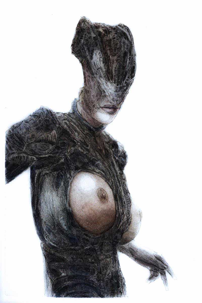 Macabre Female Concept Art