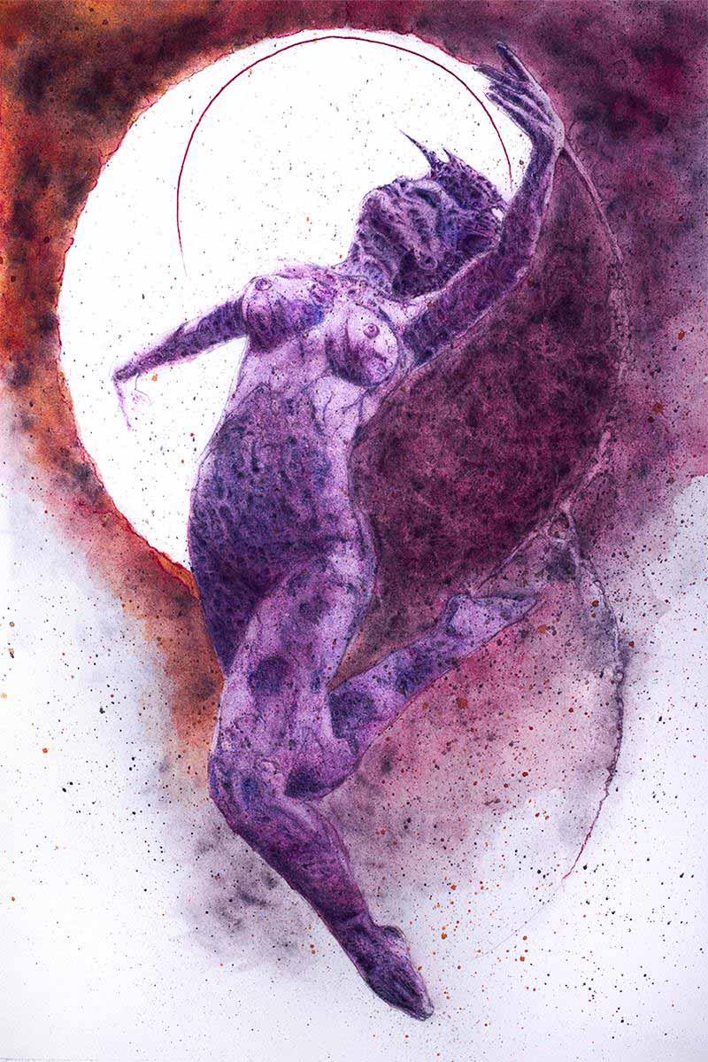 Dancing Macabre Witch MeatRoots